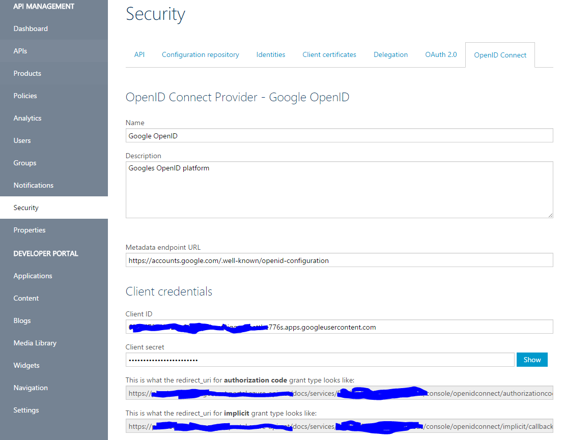 Glavs Blog - Using Google as your identity provider with