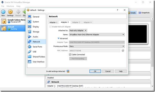 Vbox-VM-Settings
