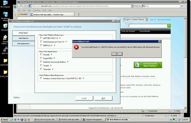 WPI with VC++ Error