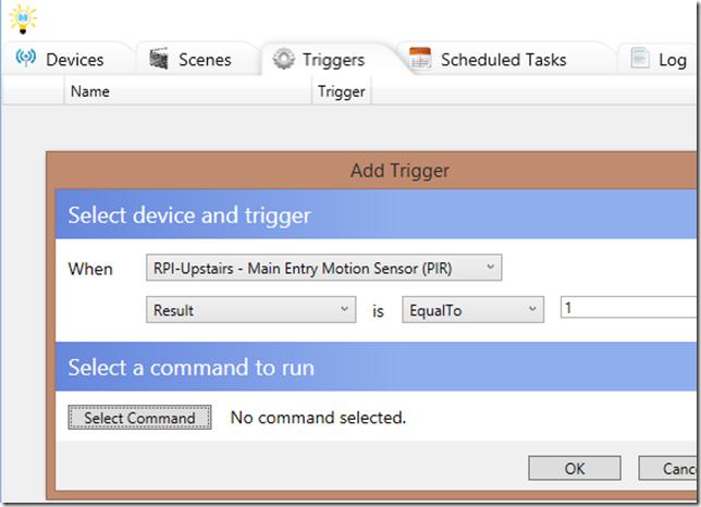 TriggerBasedonRpiMotionDetection
