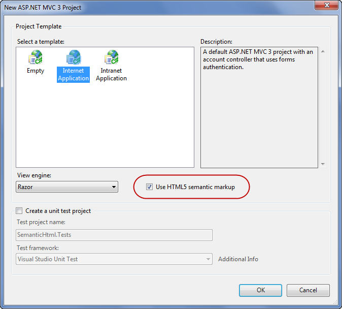 ScottGu\'s Blog - HTML5 Improvements with the ASP.NET MVC 3 Tools Update