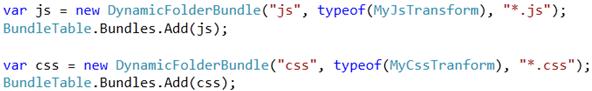 Codigo para sobreescribir el proceso de minifación de CSS y JavaScript