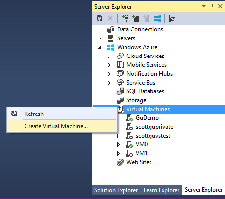 ScottGu's Blog - Azure Updates: Web Sites, VMs, Mobile