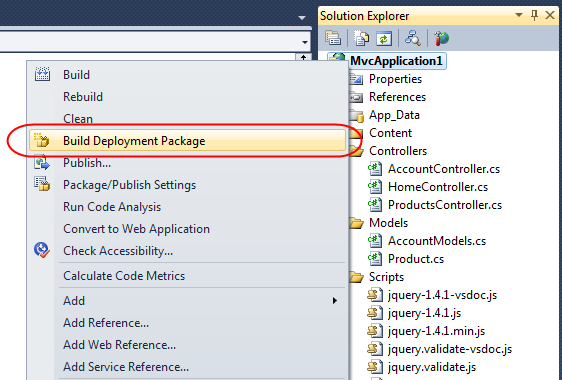 Scottgus blog vs 2010 web deployment this will compile your application perform appropriate webnfig transforms on it optionally create sql scripts for your database schema and data files ccuart Images