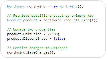 ScottGu's Blog - Announcing Entity Framework Code-First