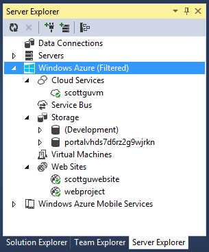 ScottGu's Blog - Announcing the release of the Windows Azure SDK 2 1