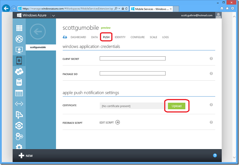 ScottGu\'s Blog - iOS Support with Windows Azure Mobile Services ...