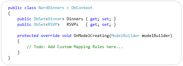 "ScottGu's Blog - Entity Framework 4 ""Code-First"": Custom"