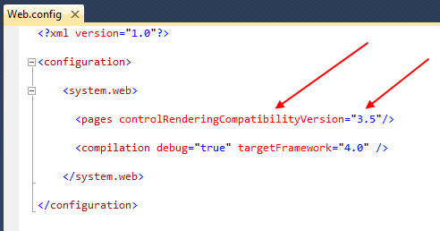 Cleaner HTML Markup with ASP.NET 4 Web Forms – Client IDs (VS 2010 and .NET 4.0 Series)