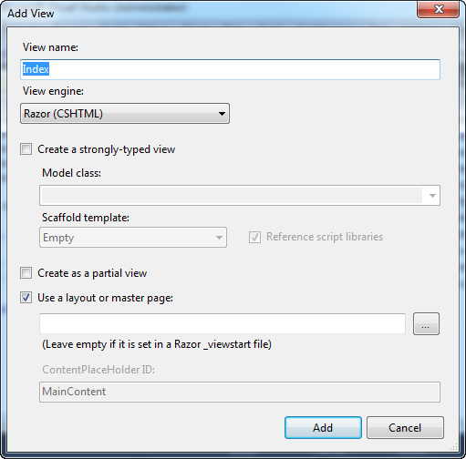 ScottGu's Blog - ASP NET MVC 3: Layouts and Sections with Razor