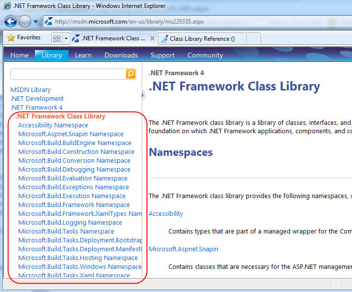 ScottGu's Blog - Preview of MSDN Library Changes