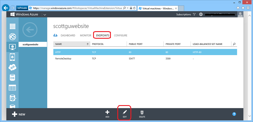 how to create release config in asp.net core
