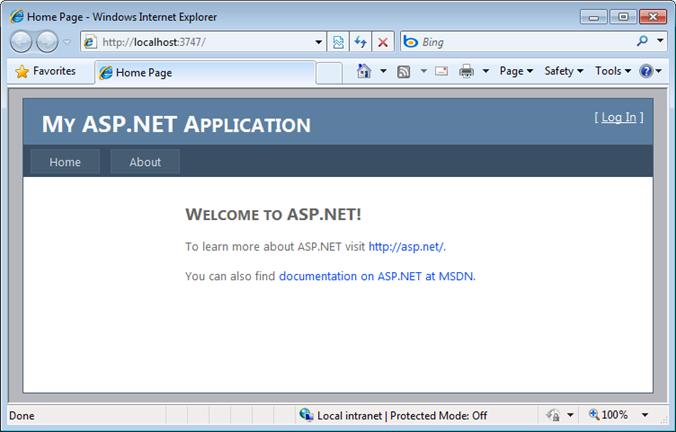 ScottGu\'s Blog - Starter Project Templates (VS 2010 and .NET 4.0 Series)