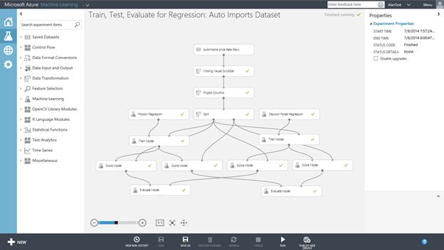 ScottGu's Blog - Azure: Virtual Machine, Machine Learning