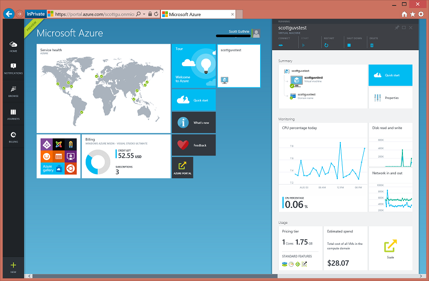 ScottGu's Blog - Azure: Virtual Machine, Machine Learning, IoT Event Ingestion, Mobile, SQL, Redis, SDK Improvements