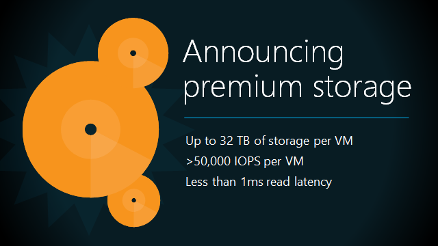 ScottGu's Blog - Azure: Premium Storage, RemoteApp, SQL