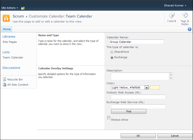 Weekly Calendar View Sharepoint : Sharad kumar aggregate sharepoint event items into your