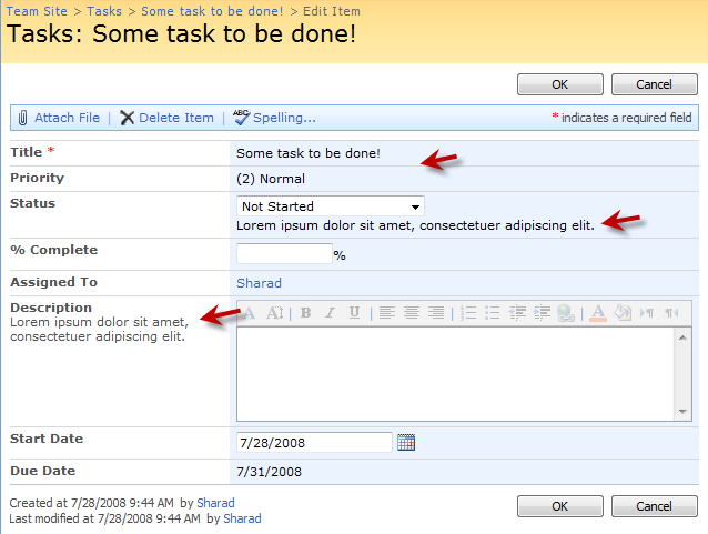 Sharad kumar how to customize sharepoint forms part 2 for Sharepoint requirements template