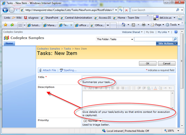 Sharad Kumar - SharePoint Forms - Improve layout of Field's ...