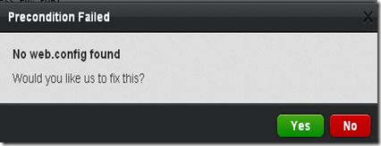 no_webconfig