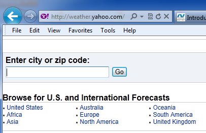 K  G  Sreeju - Display weather information in your site using jQuery