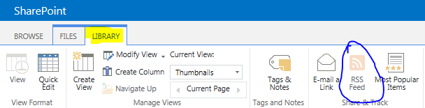 K  G  Sreeju - Enable RSS feed in SharePoint 2013