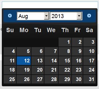 Raju's Blog - jQuery UI Date picker Popup Calendar in MVC