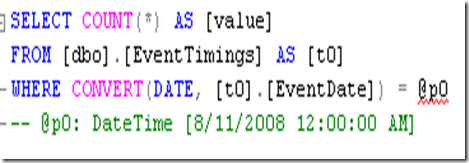 Zeeshan Hirani - Comparing Dates in Linq To SQL