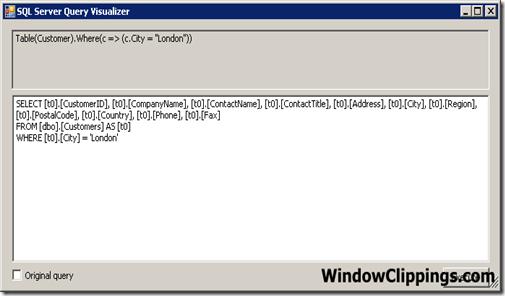 SQL Server Query Visualizer