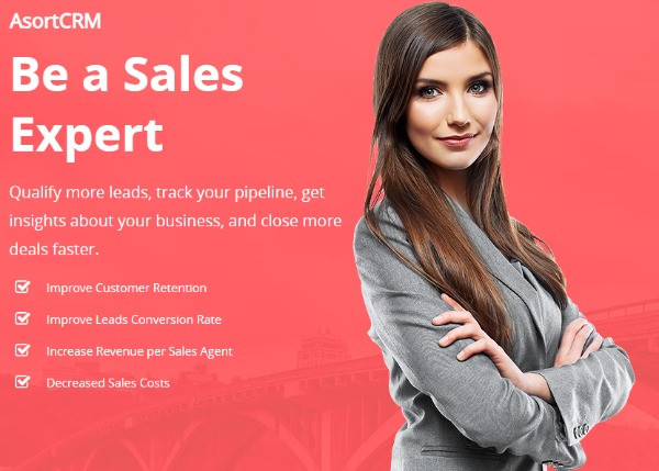 Grow Your Business With AsortCRM